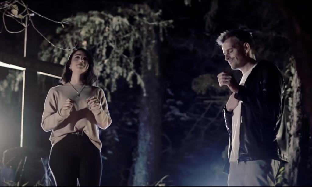 Pablo y Vero Sanfilippo cantando juntos